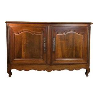Mid 19th Century French Walnut Commode For Sale