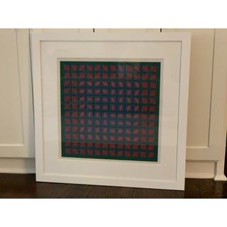 Vintage Abstract Mid-Century Art Preview