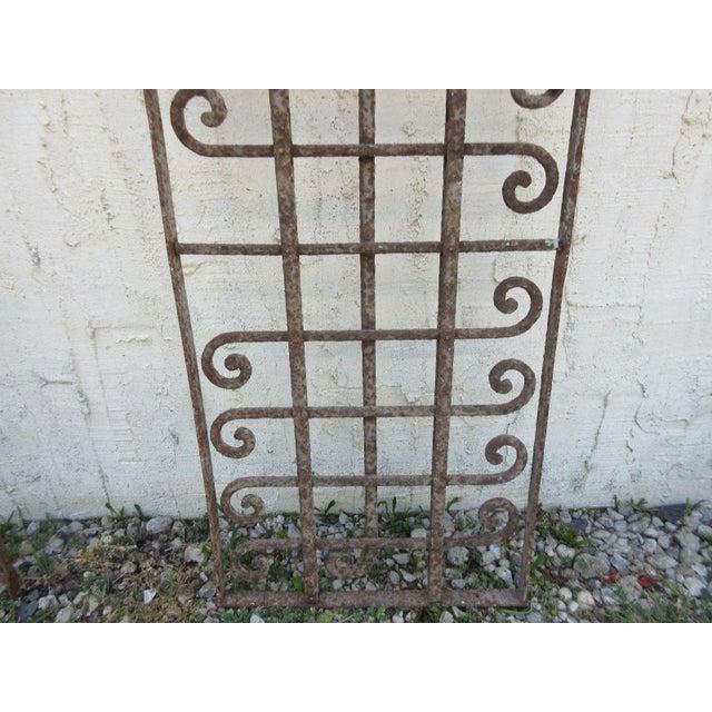 Victorian Iron Gate Window Garden Fence Door - Image 6 of 6
