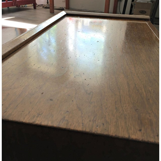 Merton L. Gershun for American of Martinsville Mid-Century Modern Coffee Table Bench - Image 9 of 9