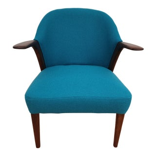 1960s Vintage Knud A. Risager, Model 31, Danish Designed Armchair For Sale