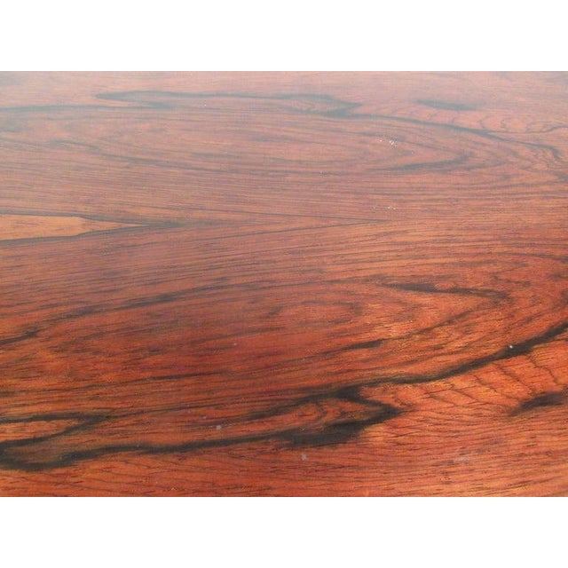 Vintage Scandinavian Rosewood Coffee Table by Haug Snekkeri for Bruksbo For Sale - Image 11 of 13