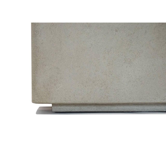 The Scarpa I Cast Concrete Bench or Planter - Image 5 of 5