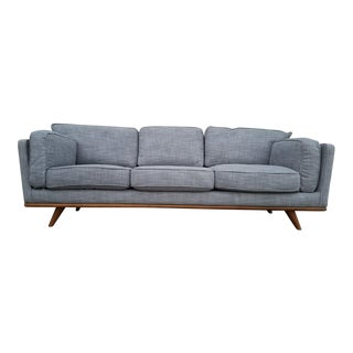 "Grey Tweed ""Avalon"" Sofa"