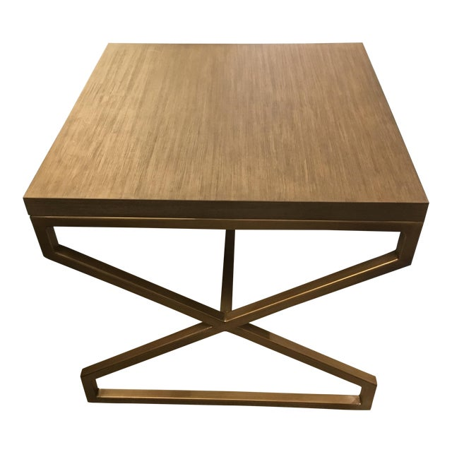 Artistica Home Edict Square End Table For Sale