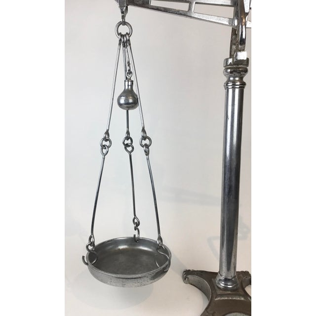19th C. Hunt & Co. Balance Scale - London For Sale - Image 9 of 13