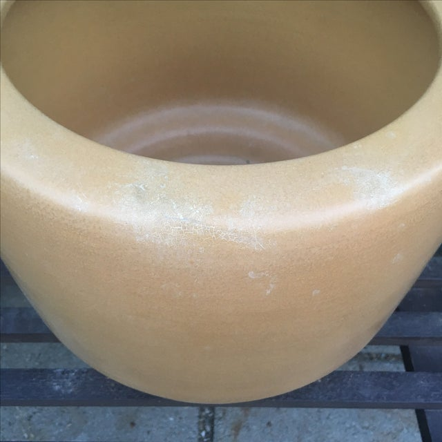 Architectural Pottery Small Gold Planter - Image 9 of 10