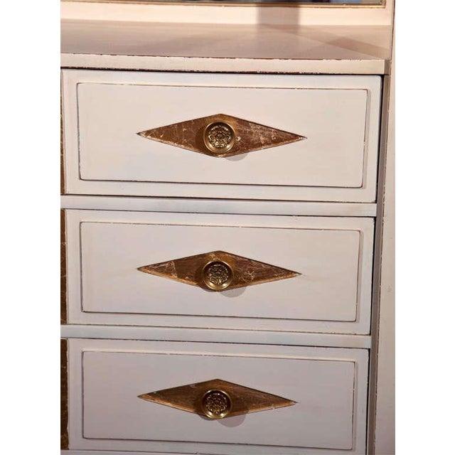 Empire Grosfeld House French Empire Vanity Dresser For Sale - Image 3 of 10