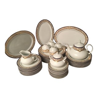 Pegasus Dinnerware and Tea Set - 50 Pieces For Sale