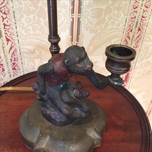 Chelsea House Monkey Lamp - Image 3 of 7
