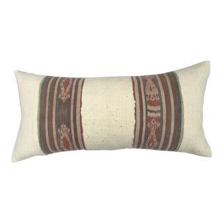 Vintage Tribal Textiles Pillow
