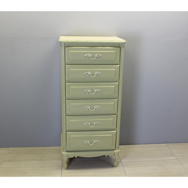 Mid Century Lingerie Chest Of Drawers For Sale - Image 4 of 4