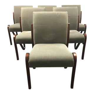 Persing Enterprise Custom Dining Chairs, Set of Six For Sale