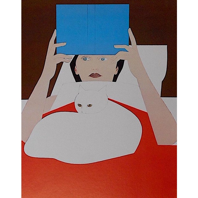 This poster is part of a collection of lithographs depicting various mid 20th century posters by famous artists (mostly...