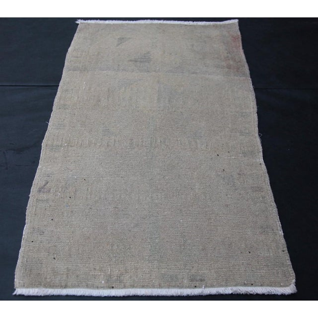 A charming Pastel Color Old & Antique Handmade Turkish Anatolian from Oushak region. The age of this carpet is...