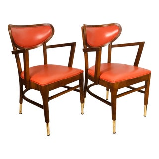 Vintage Shelby Williams Occasional Chairs - a Pair For Sale