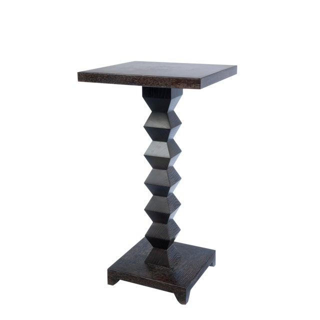 Donghia 1980s Transitional Donghia Zig Zag Table For Sale - Image 4 of 4