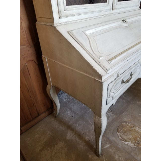 Louis XVI Secretary by Minton Spidell For Sale - Image 9 of 12