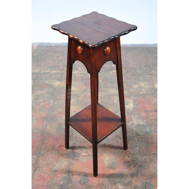 "Antique American Designer 36"" Fern Stand For Sale - Image 4 of 9"