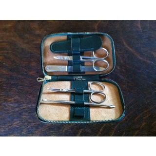 Vintage Hoffritz Germany Nyc Gentleman's Leather Grooming Travel Kit Preview