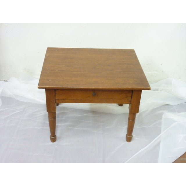 Late 19th Century 19th Century Vintage Low Table For Sale - Image 5 of 6