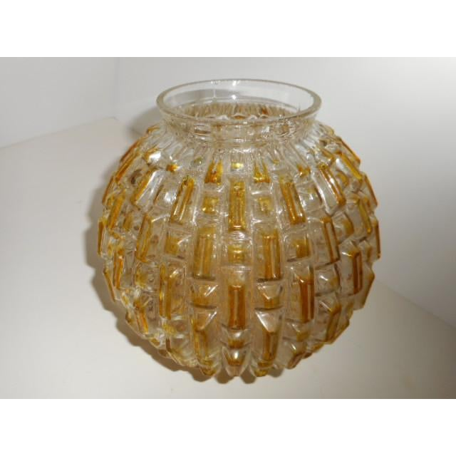 Mid Century Honeycomb Ceiling Light Shade Lamp - Image 7 of 7