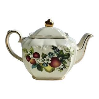 "Sadler England ""Fruit"" Cube Teapot For Sale"