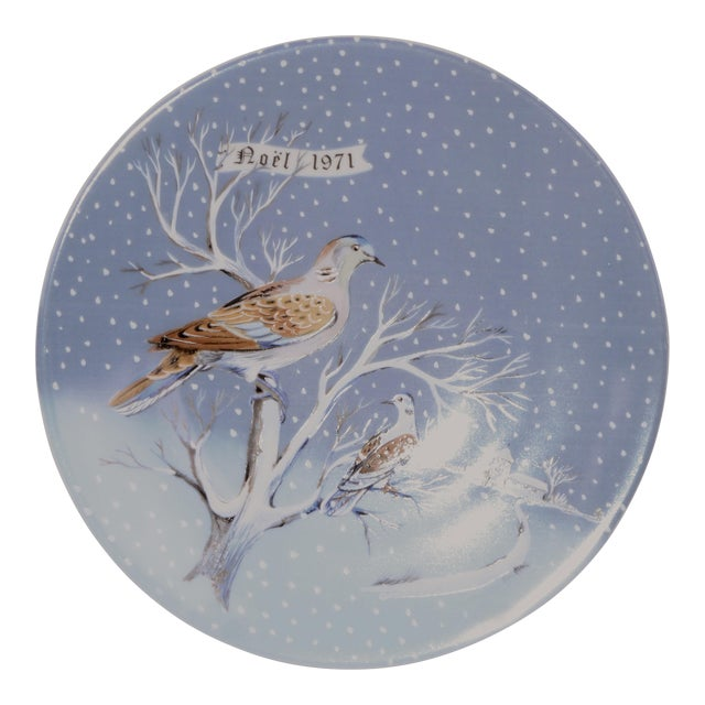 Haviland Two Turtle Doves Plate For Sale