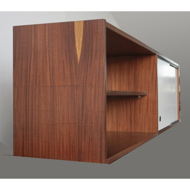 Mid-Century Modern Mid-Century Wall Cabinet For Sale - Image 3 of 7