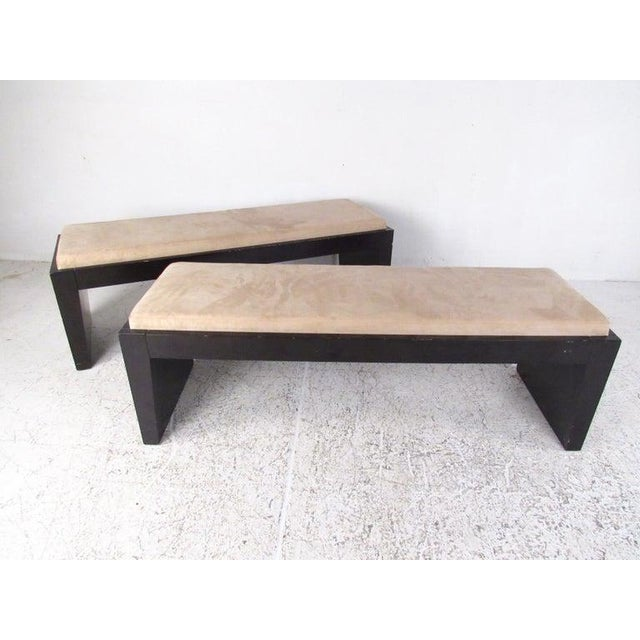 Modern Decorator Bench For Sale - Image 4 of 11