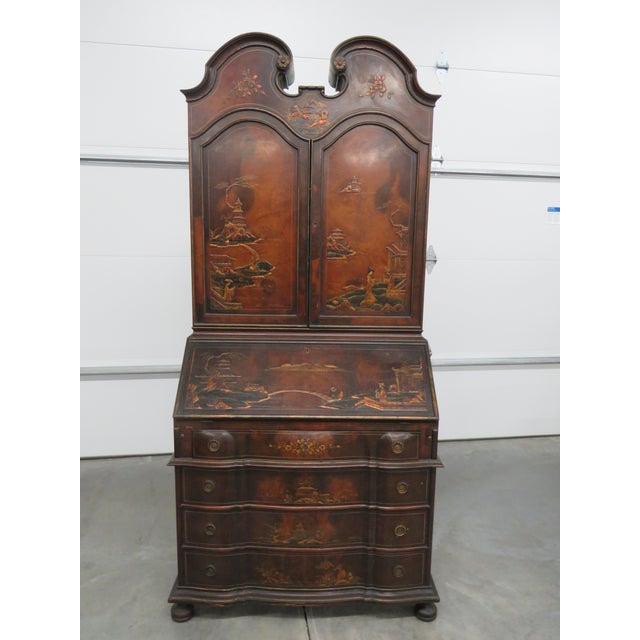 NY Galleries Asian Inspired Secretary Desk For Sale - Image 13 of 13