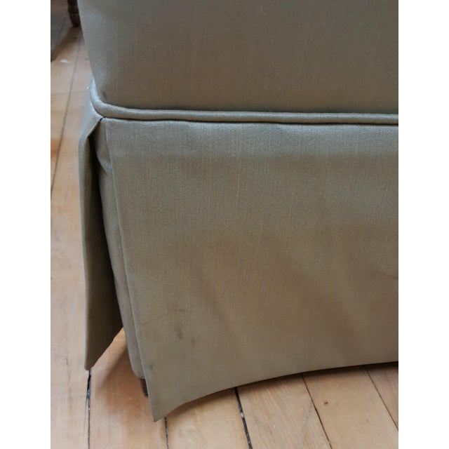 2000 - 2009 Hickory Chair Mint Green Club Chair For Sale - Image 5 of 8