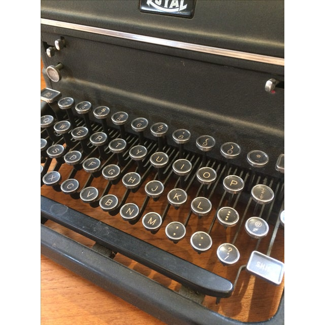 1930s Royal Typewriter For Sale - Image 7 of 8