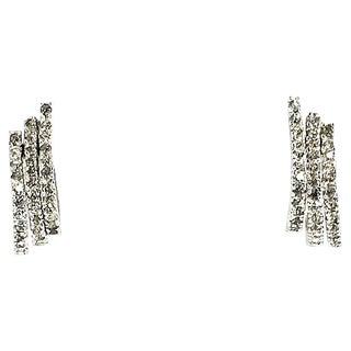 Panetta Crystal Triple-Hoop Earrings For Sale