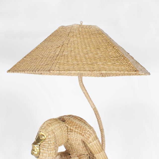 Mario Lopez Torres Mario Torres Monkey Floor Lamp For Sale - Image 4 of 8