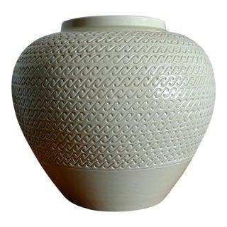 1960s Vintage Aldo Londi Bitossi for Nora Fenton Imports Italian Ceramic Vessel For Sale