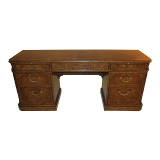 Vintage Karges French Regence Style Partner Desk For Sale