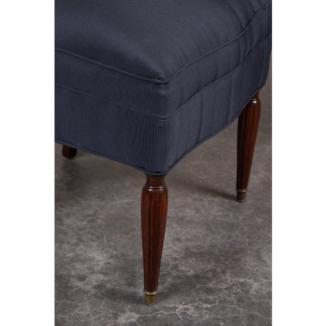 Set of 8 French Art Deco Rosewood Chairs For Sale In Los Angeles - Image 6 of 8