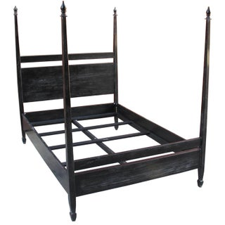 Venice Bed, Queen, Hand Rubbed Black Preview