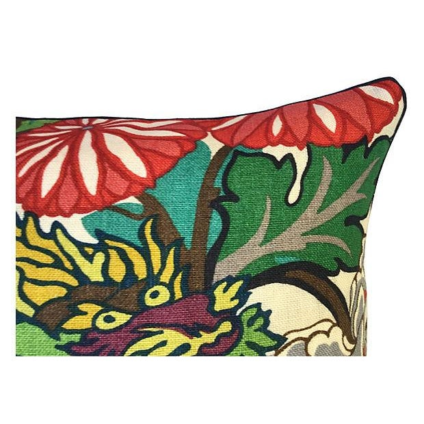 Schumacher Chiang Mai Dragon Pillow - Image 3 of 5
