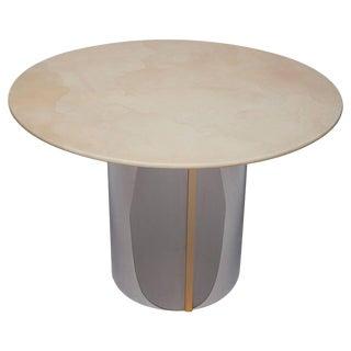 1970's Parchment Center Table For Sale