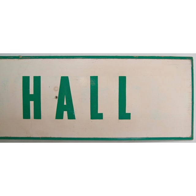 1950s Harmony Hall Sign For Sale - Image 5 of 6