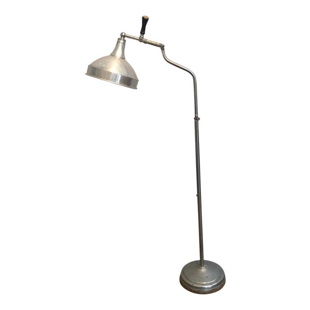 Vintage industrial floor lamp chairish vintage industrial floor lamp image 1 of 6 aloadofball Image collections