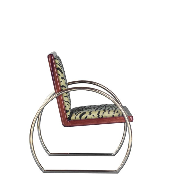 D-Ring Lounge Chair by Artist Troy Smith - Contemporary Design - Artist Proof - Custom Furniture For Sale - Image 6 of 10