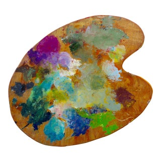 Abstract Expressonist Artist Palette For Sale