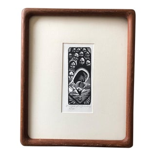 Fritz Eichenberg Signed Print For Sale