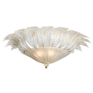 Italian Vintage Murano Glass Chandelier For Sale