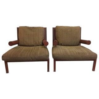 "Antonio Citterio Original ""Baisity"" Lounge Chairs for B & B Italia, Pair"