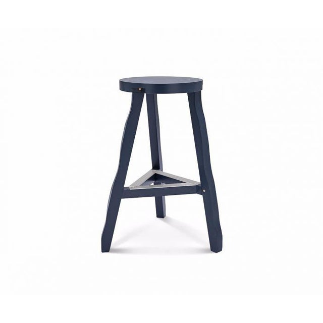 Tom Dixon Offcut Stool Grey For Sale In Los Angeles - Image 6 of 7