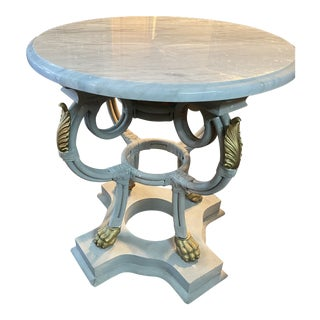 Regency Style Accent Table For Sale